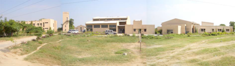 The sprawling campus as it existed in 2006
