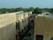 The hostel area